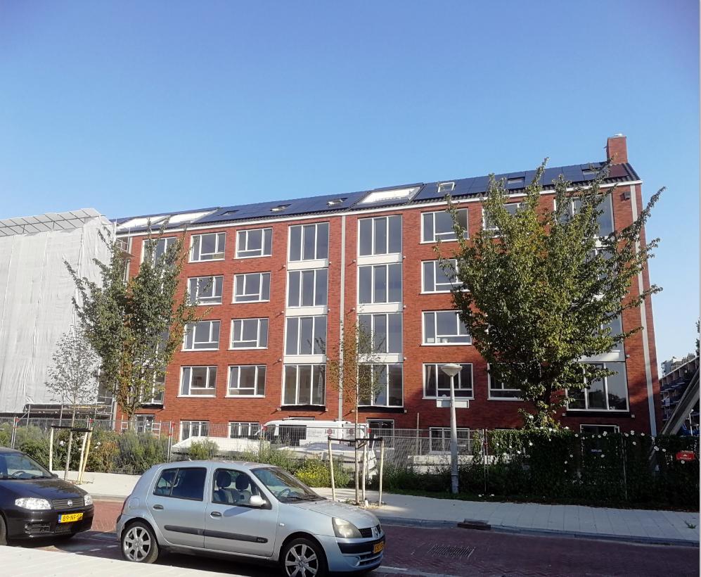 De Hemsterhuisflat wordt volledig gasloos. De woningen worden ingrijpend gerenoveerd, zowel aan de binnenkant als aan de buitenkant.