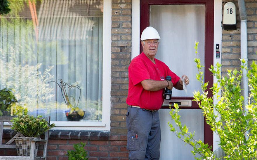 Dikke voldoende van bewoners voor uitvoering  renovatiewerkzaamheden te Hilversum