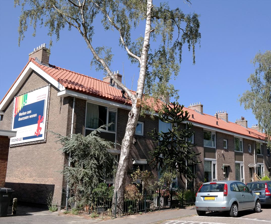 Foto: Willem Kruijshaarstraat | Binnen het project zijn MV-installaties aangebracht en isolatieglas, er is schilderwerk uitgevoerd en open verbrandingstoestellen zijn vervangen.