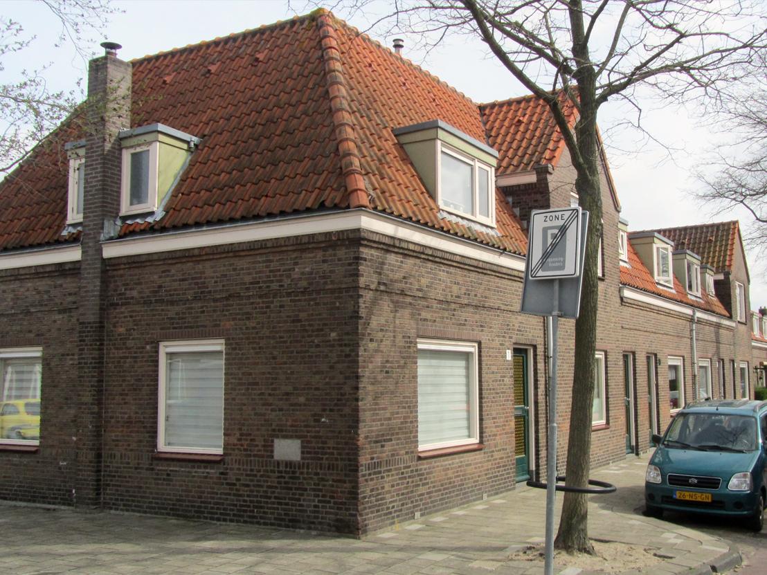 Een voorbeeld van de woningen voor de renovatie.