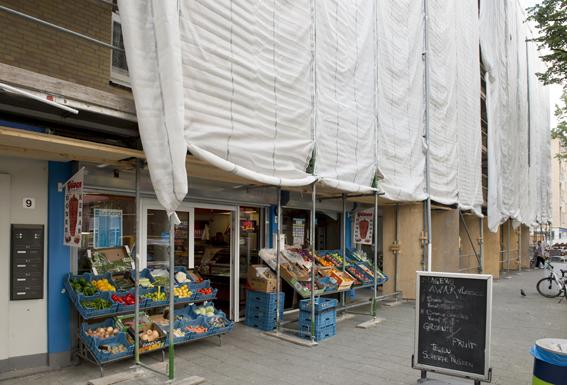 De winkeliers zijn ook meegenomen in het verduurzamingstraject.
