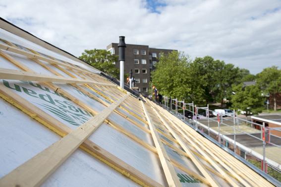 Vernieuwen en isoleren daken + WBDBO verhogen