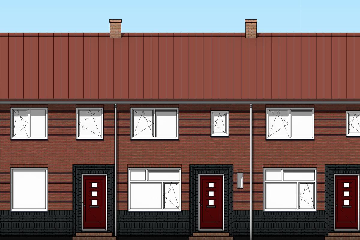 De impressie en 3D modellen van de architect toonden de bewonerscommissie en de welstandscommissie een zeer realistisch beeld van het ontwerp. Het ontwerp, vormgegeven met de kleur- en materiaalkeuzes is akkoord bevonden door de welstand