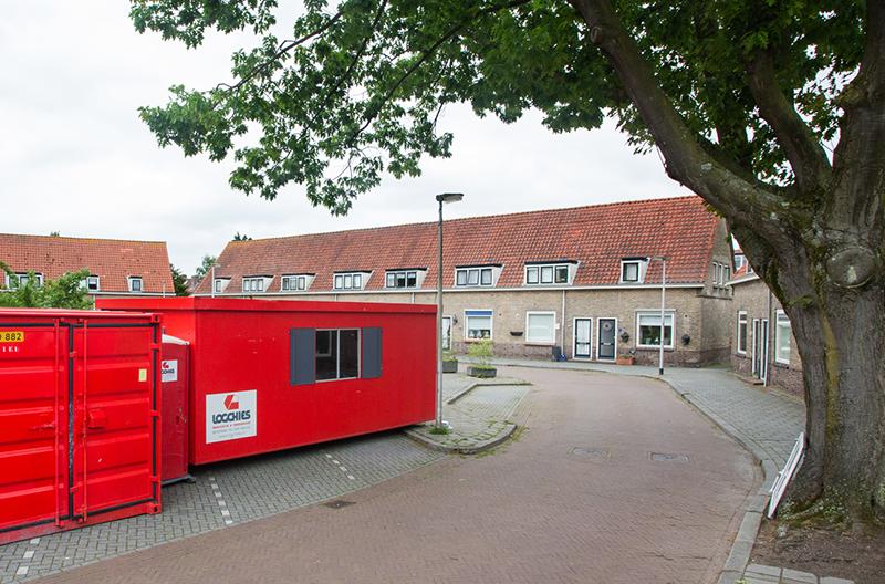 Het planmatig gevelonderhoud aan het complex Huizerweg e.o. te Bussum bestaat uit: conditiemeting, houtrotopname en houtrotherstel, reinigingswerk, en schilderwerk.